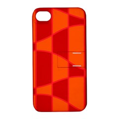 Background Texture Pattern Colorful Apple Iphone 4/4s Hardshell Case With Stand