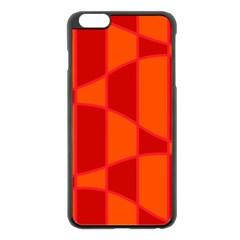 Background Texture Pattern Colorful Apple iPhone 6 Plus/6S Plus Black Enamel Case