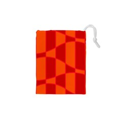Background Texture Pattern Colorful Drawstring Pouches (XS)