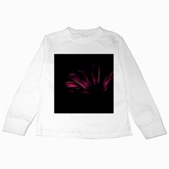 Pattern Design Abstract Background Kids Long Sleeve T Shirts