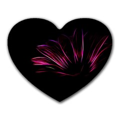 Pattern Design Abstract Background Heart Mousepads