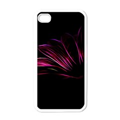 Pattern Design Abstract Background Apple iPhone 4 Case (White)