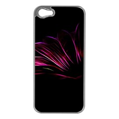 Pattern Design Abstract Background Apple Iphone 5 Case (silver)