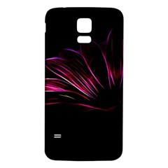 Pattern Design Abstract Background Samsung Galaxy S5 Back Case (white)