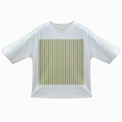 Pattern Background Green Lines Infant/Toddler T-Shirts