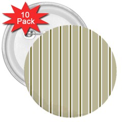 Pattern Background Green Lines 3  Buttons (10 Pack)