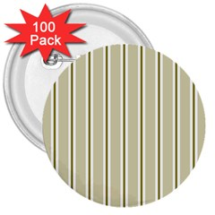 Pattern Background Green Lines 3  Buttons (100 pack)