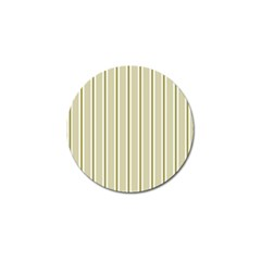 Pattern Background Green Lines Golf Ball Marker (4 pack)