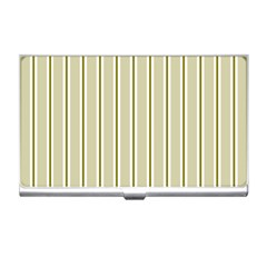Pattern Background Green Lines Business Card Holders