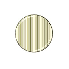 Pattern Background Green Lines Hat Clip Ball Marker