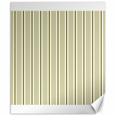 Pattern Background Green Lines Canvas 20  X 24