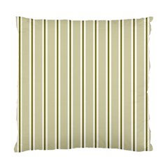 Pattern Background Green Lines Standard Cushion Case (Two Sides)