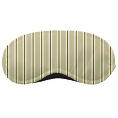 Pattern Background Green Lines Sleeping Masks