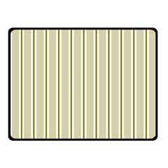 Pattern Background Green Lines Fleece Blanket (small)