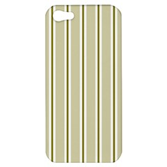 Pattern Background Green Lines Apple iPhone 5 Hardshell Case