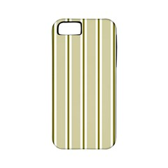 Pattern Background Green Lines Apple iPhone 5 Classic Hardshell Case (PC+Silicone)