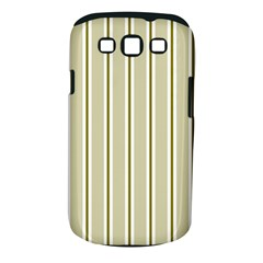 Pattern Background Green Lines Samsung Galaxy S Iii Classic Hardshell Case (pc+silicone)