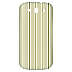 Pattern Background Green Lines Samsung Galaxy S3 S Iii Classic Hardshell Back Case