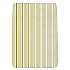 Pattern Background Green Lines Flap Covers (l)