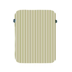 Pattern Background Green Lines Apple iPad 2/3/4 Protective Soft Cases