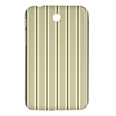 Pattern Background Green Lines Samsung Galaxy Tab 3 (7 ) P3200 Hardshell Case