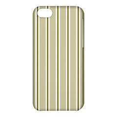 Pattern Background Green Lines Apple Iphone 5c Hardshell Case