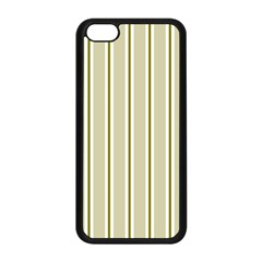 Pattern Background Green Lines Apple Iphone 5c Seamless Case (black)
