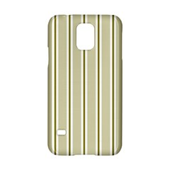 Pattern Background Green Lines Samsung Galaxy S5 Hardshell Case
