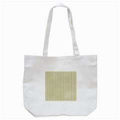 Pattern Background Green Lines Tote Bag (white)