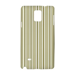 Pattern Background Green Lines Samsung Galaxy Note 4 Hardshell Case