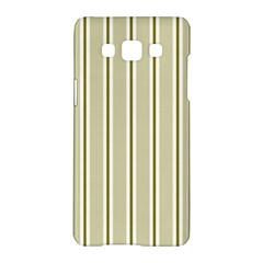 Pattern Background Green Lines Samsung Galaxy A5 Hardshell Case