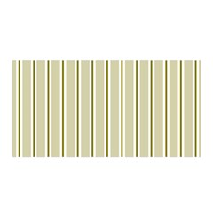 Pattern Background Green Lines Satin Wrap