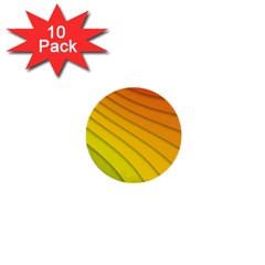 Abstract Pattern Lines Wave 1  Mini Buttons (10 pack)