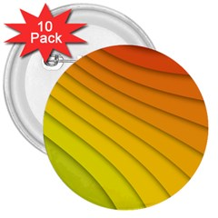 Abstract Pattern Lines Wave 3  Buttons (10 Pack)