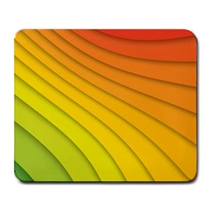 Abstract Pattern Lines Wave Large Mousepads
