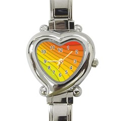 Abstract Pattern Lines Wave Heart Italian Charm Watch