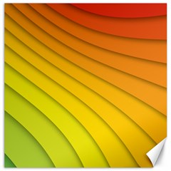 Abstract Pattern Lines Wave Canvas 20  x 20