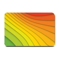 Abstract Pattern Lines Wave Small Doormat