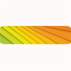 Abstract Pattern Lines Wave Large Bar Mats