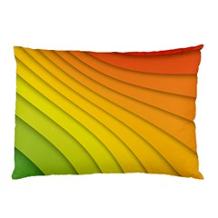 Abstract Pattern Lines Wave Pillow Case