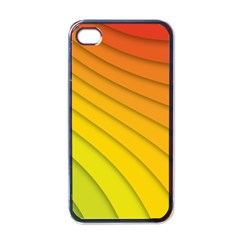 Abstract Pattern Lines Wave Apple Iphone 4 Case (black)