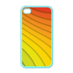 Abstract Pattern Lines Wave Apple iPhone 4 Case (Color)