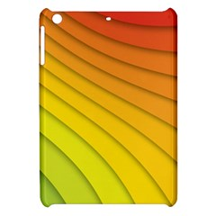 Abstract Pattern Lines Wave Apple Ipad Mini Hardshell Case