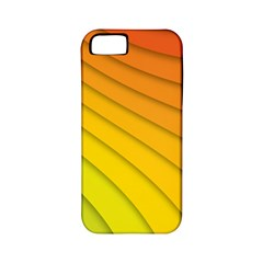 Abstract Pattern Lines Wave Apple iPhone 5 Classic Hardshell Case (PC+Silicone)