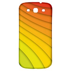 Abstract Pattern Lines Wave Samsung Galaxy S3 S Iii Classic Hardshell Back Case