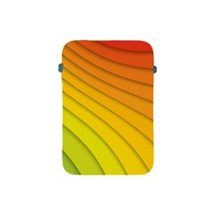 Abstract Pattern Lines Wave Apple Ipad Mini Protective Soft Cases