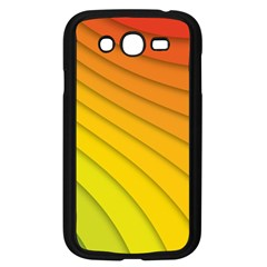 Abstract Pattern Lines Wave Samsung Galaxy Grand Duos I9082 Case (black)