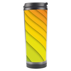 Abstract Pattern Lines Wave Travel Tumbler