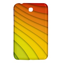 Abstract Pattern Lines Wave Samsung Galaxy Tab 3 (7 ) P3200 Hardshell Case