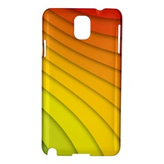 Abstract Pattern Lines Wave Samsung Galaxy Note 3 N9005 Hardshell Case